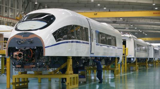 CHINA HSR TRAINS
