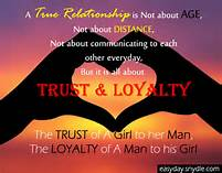 TRUST AND LOYALTY