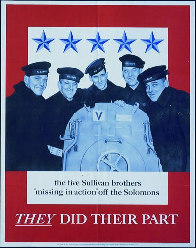 FIVE SULLIVAN BROTHERS