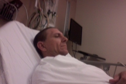 DON MARTINI IN HOSPITAL