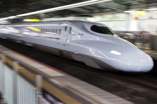 WEST JAPAN BULLET TRAIN