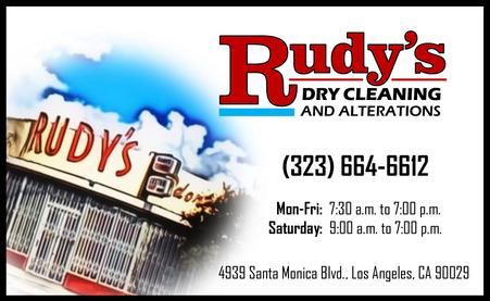 1Rudy's Dry Cleaning