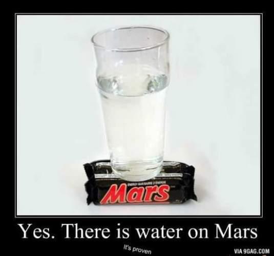 1WATER ON MARS