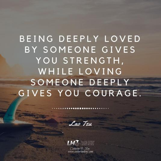 1BEING DEEPLY LOVED