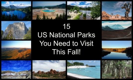 15 National Parks