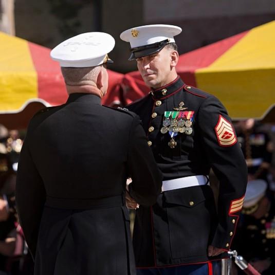 1Gunnery Sergeant Brian C. Jacklin