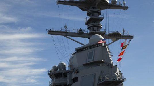 NavyGeraldFordMast
