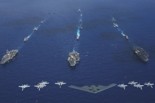 CARRIER BATTLE GROUPS